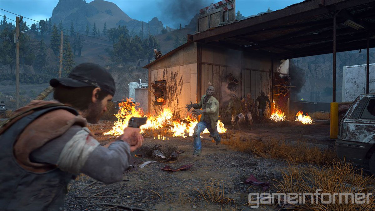 Yes, they're called freakers – and there's more of them than you might think. Here's a rundown of all the enemy types we saw and know about in @BendStudio's Days Gone. https://t.co/qJQWPdABS4