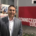 """""""I represent several clients who are trying to reach out to national retailers & #ICSCRECon is the perfect venue to make those connections. We used the NAR booth today to meet with city officials & name #retail entities."""" —Joe Nuñez"""