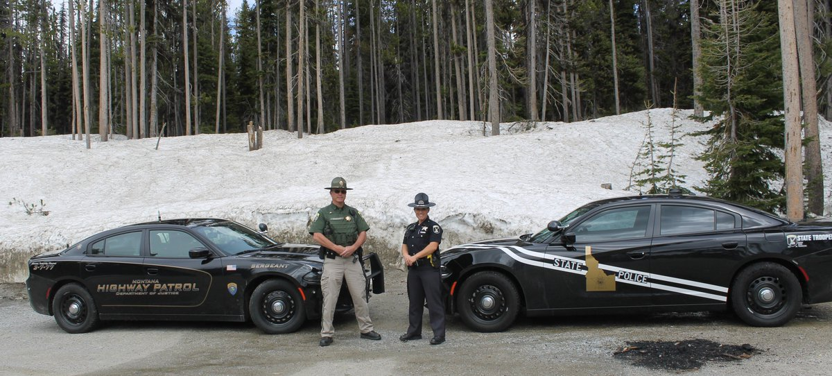 Idaho State Police On Twitter One Of Our Partners For The Border To Seat Belt Emphasis Is Montana Highway Patrol