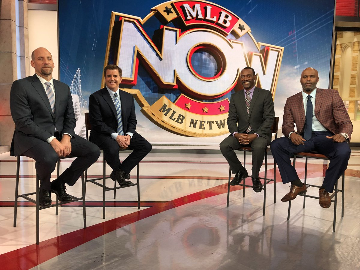 Thank you @MLBNetwork for today! With @MrBrianKenny @CliffFloyd30 and John Smoltz.
