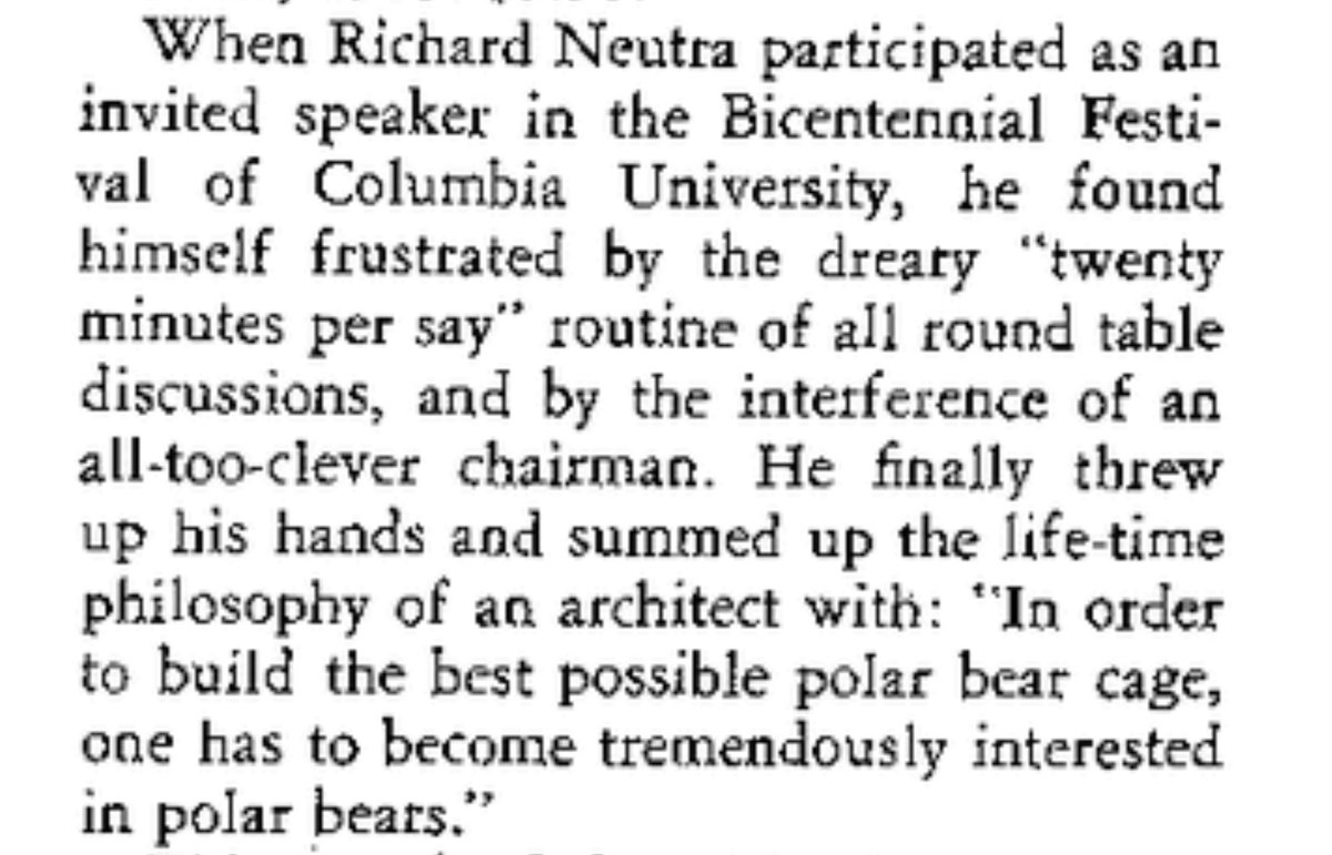 Of Sibyl Moholy Nagys Review Richard Neutras Survival Through Design Has Changed My Opinion On The Propriety Opening An Essay With Anecdote
