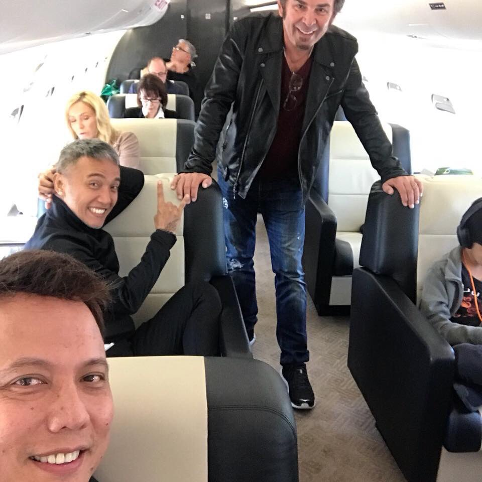 """Are you READY TO ROCK Hartford, CT?!! Journey is on route!!  #JourneyDontStop2018   #Repost @yulsession Instagram: """"This is it first day of the show!"""" #journeyband  #privatejet #tourlife #journey2018 #stylebyyul<br>http://pic.twitter.com/uxnsKOiH5j"""