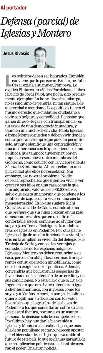 Defensa (parcial) de Iglesias y Montero. Buen artículo de @jesus_rivases.