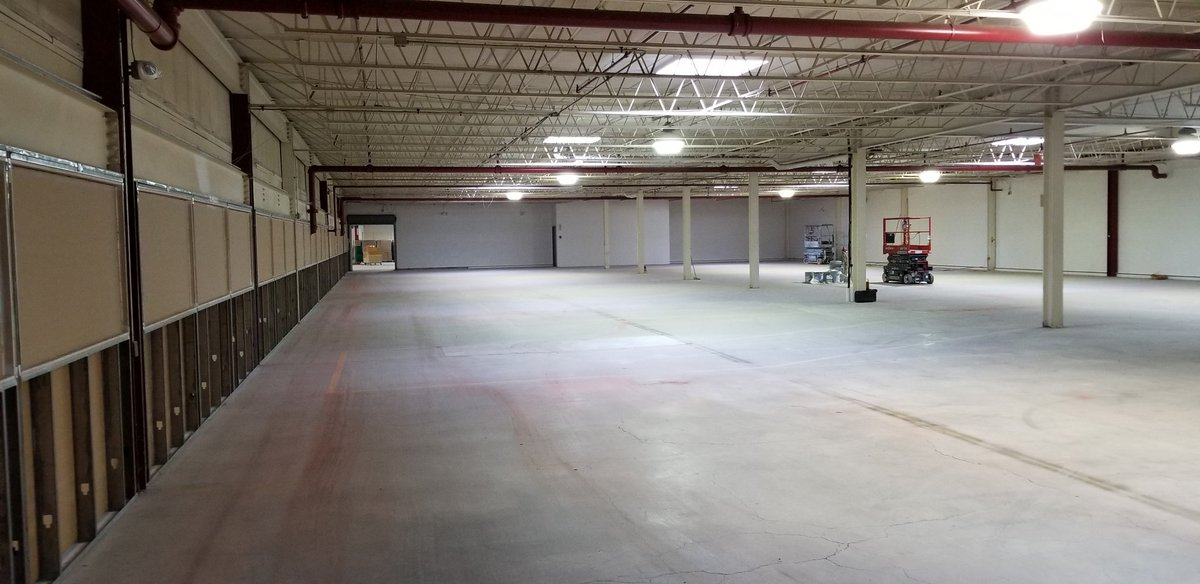 We are going to turn this space into Albemarle Tech, high school as it&#39;s supposed to be #ATech #acps (40,000+ sqft all together)<br>http://pic.twitter.com/xV66vCdniF