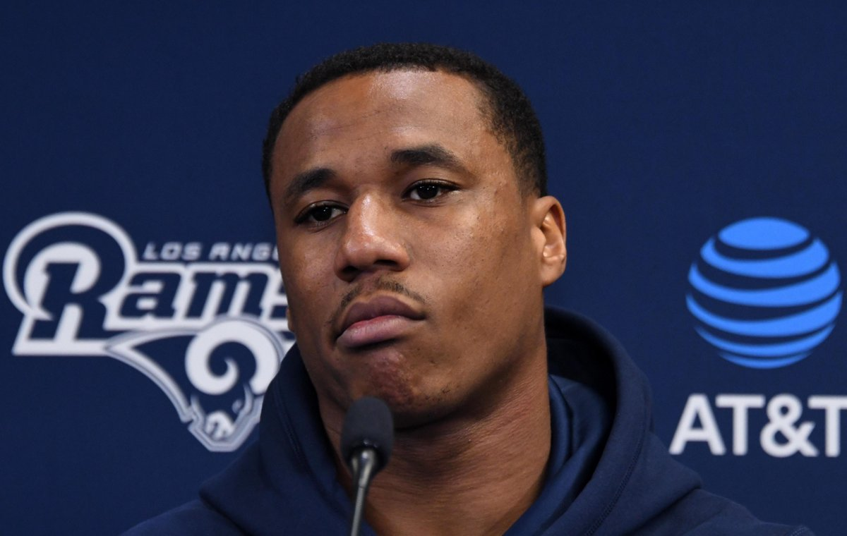 Marcus Peters wants the Rams to ink Aaron Donald to a new deal: 'I mean, sheeeit. You win the MVP? Come on now.' https://t.co/vmZmtxmhsB