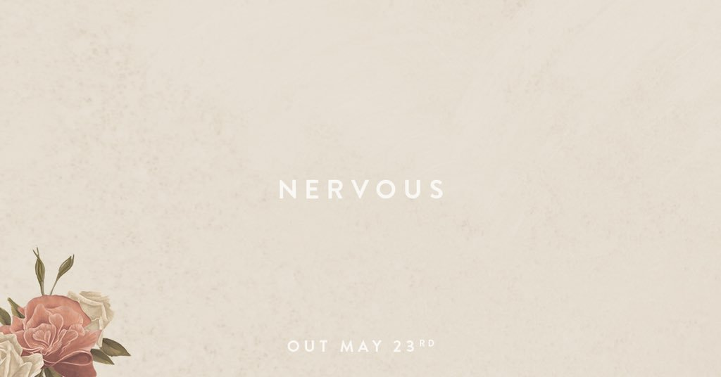 #Nervous comes out Wednesday! Get it when you preorder the album https://t.co/C3oXJ4SpCd https://t.co/27Xpuz1uOr