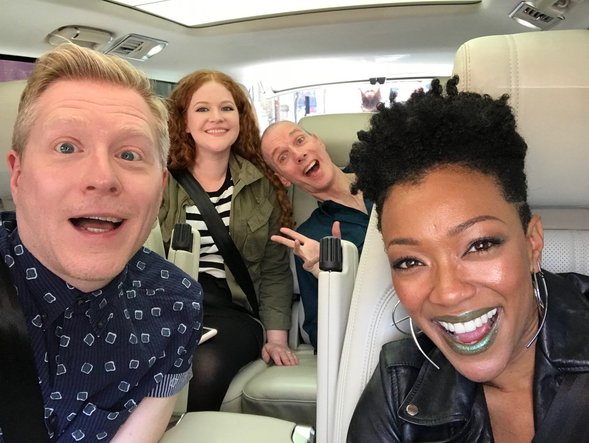 #Starfleet's newest mission: #CarpoolKaraoke  Coming soon to the @AppleTV app! #StarTrekDiscovery<br>http://pic.twitter.com/r0mMKnEAy5