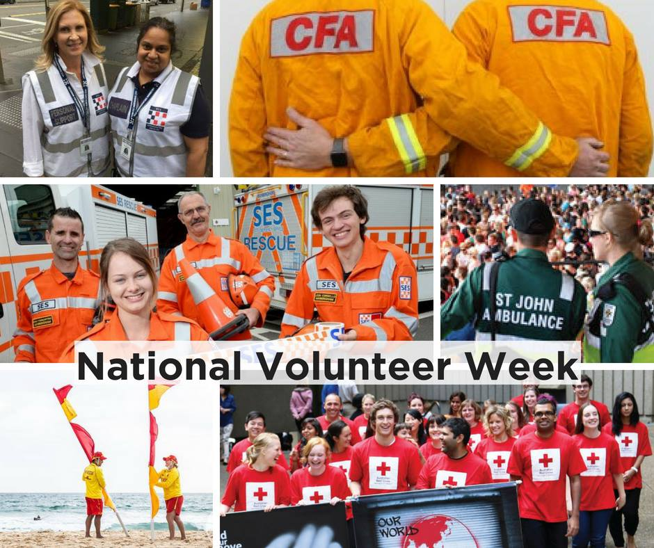 It is #NationalVolunteerWeek, a time to celebrate volunteers and the important work they do in our communities. EMC @craig_lapsley says volunteers in our sector are critical to our ability to plan, prepare, respond and recover from emergencies.  https:// bit.ly/2IyXDDz  &nbsp;   #NVW2018<br>http://pic.twitter.com/cryAU5l7PI