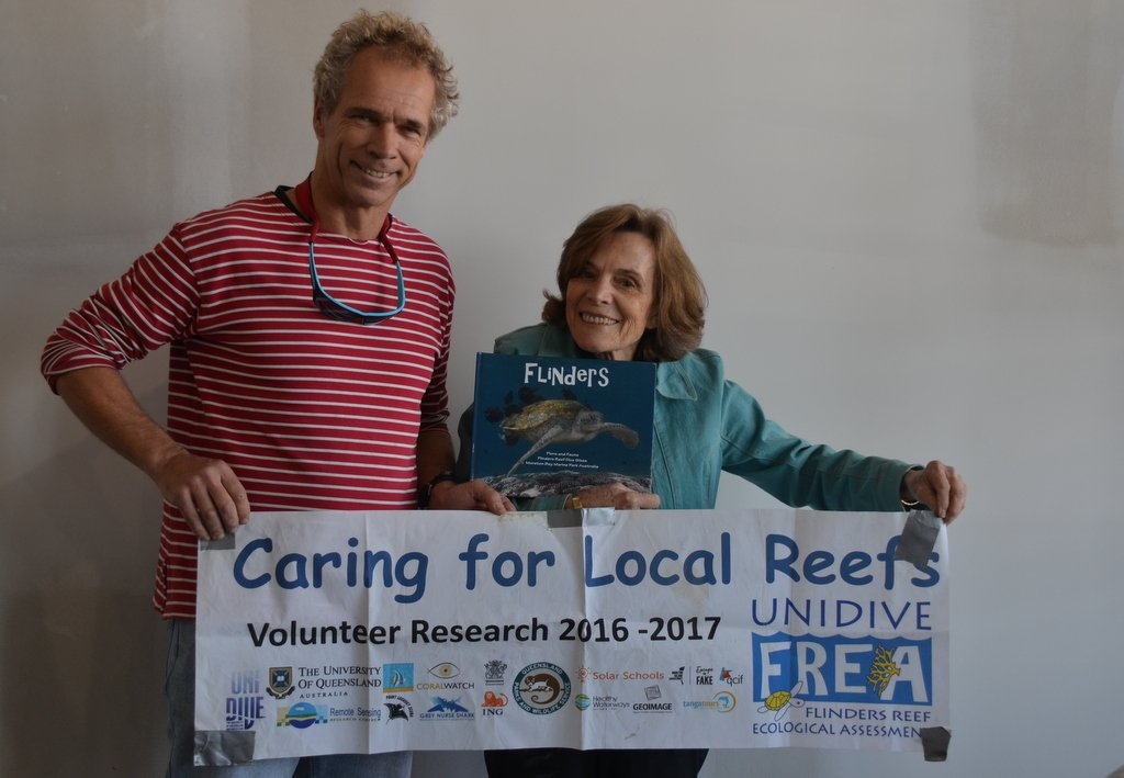 Compliments by @SylviaEarle for #citizenscientist of Moreton Bay Marine Park, for their dedication, photo book and technical reports, a true @MissionBlue #Hopespot. Thanks @RSRC_UQ @ReefCheckAus @Coral_Watch @hlthylandwater @unidive @UniDive_FREA @UQ_sees @UQ_News @StevenJMiles<br>http://pic.twitter.com/Z7w9D32Ujv
