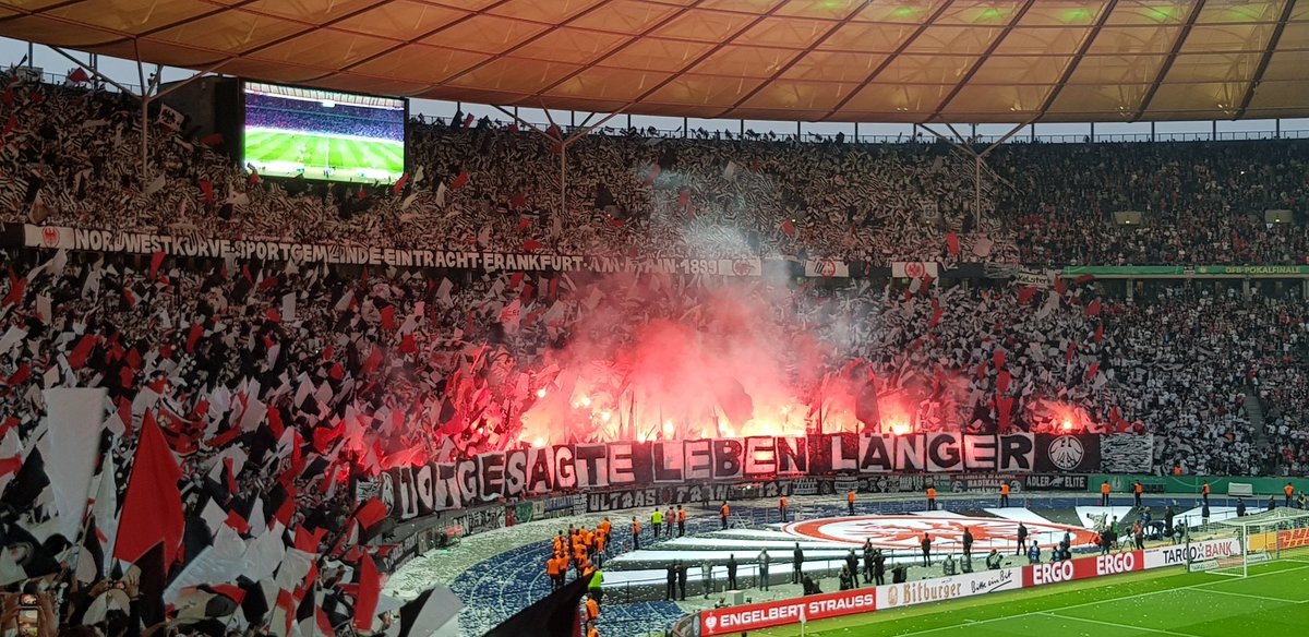 Amazing experience at the @DFBPokal_EN #final in #Berlin on Saturday. Atmosphere was incredible, especially the @eintracht_eng fans!