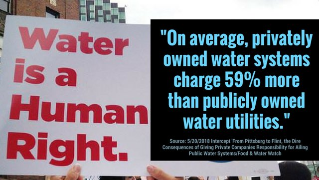 """Water privatization is disastrous for public health.  """"The lead crisis in Flint and Pittsburgh have many unfortunate parallels. Residents in both cities unknowingly drank water with high levels of the potent neurotoxin.""""  https:// bit.ly/2GCwBFB  &nbsp;   via @theintercept<br>http://pic.twitter.com/akXF57eKWw"""