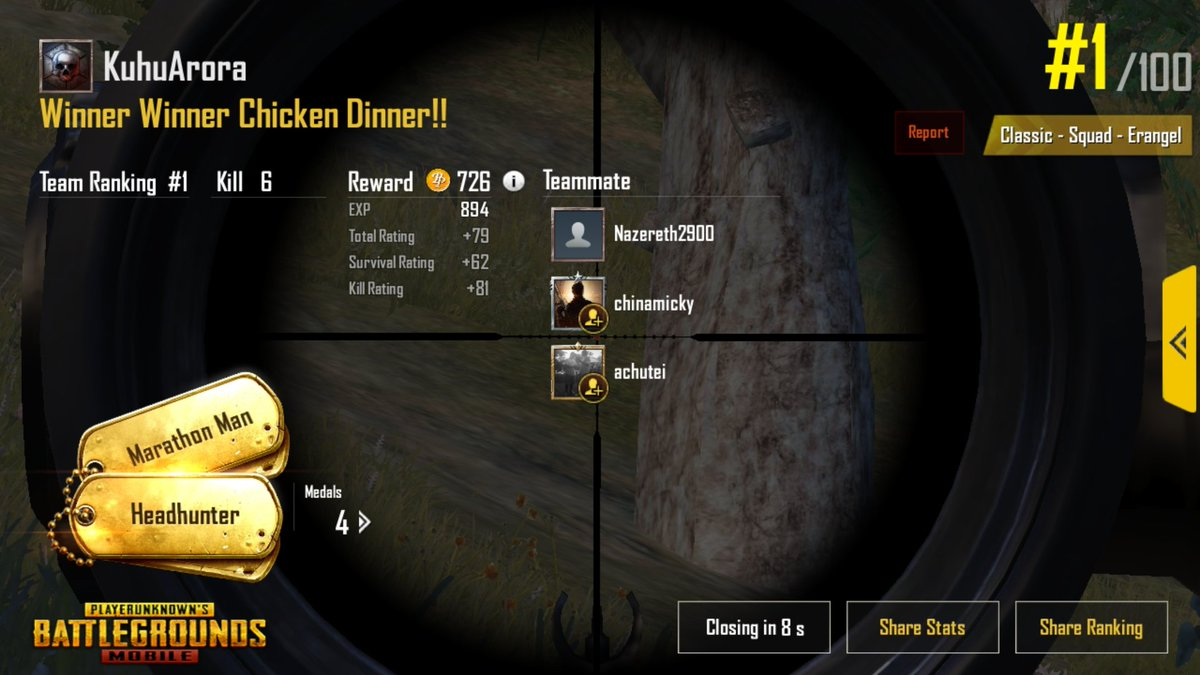 When you play @PUBGMOBILE with @tydollasign and your squad comes #1 💪💪💪😍😍😍