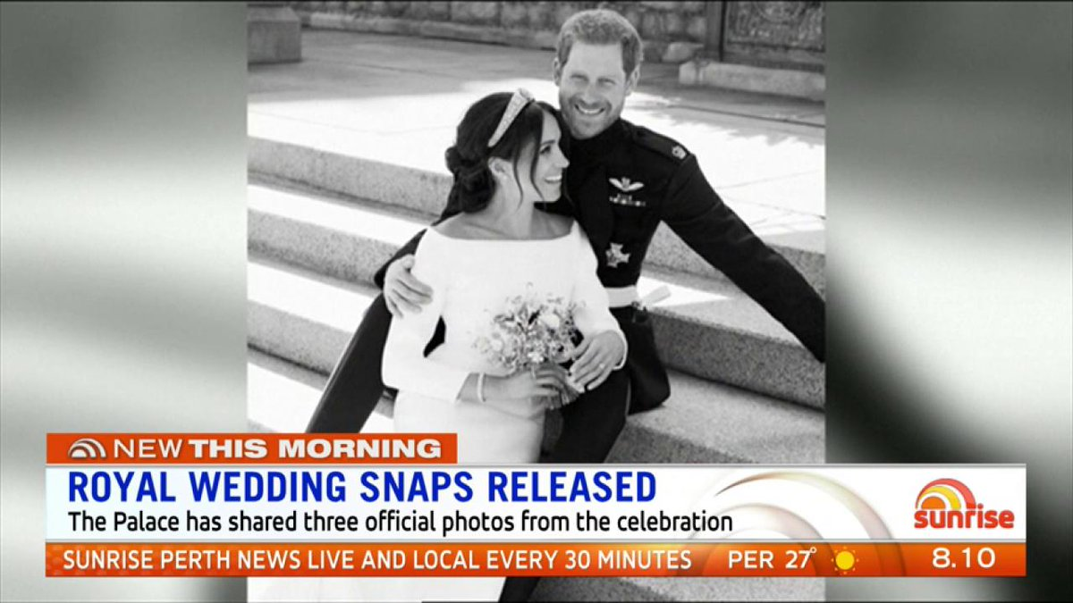 Image for the Tweet beginning: The new Duke and Duchess