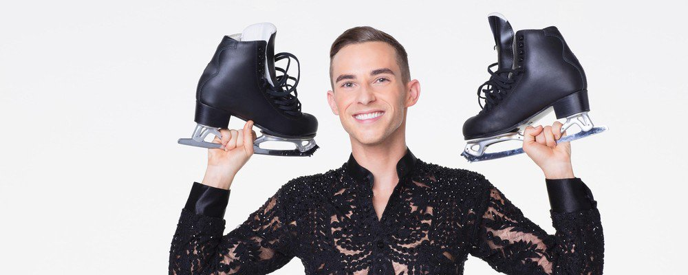 Erica Abbott's photo on Adam Rippon