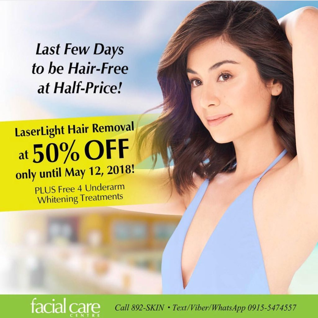 Facial Care Centre On Twitter Want To Be Hair Free At Half Price