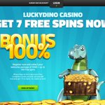 Image for the Tweet beginning: Lucky Dino Casino - современное