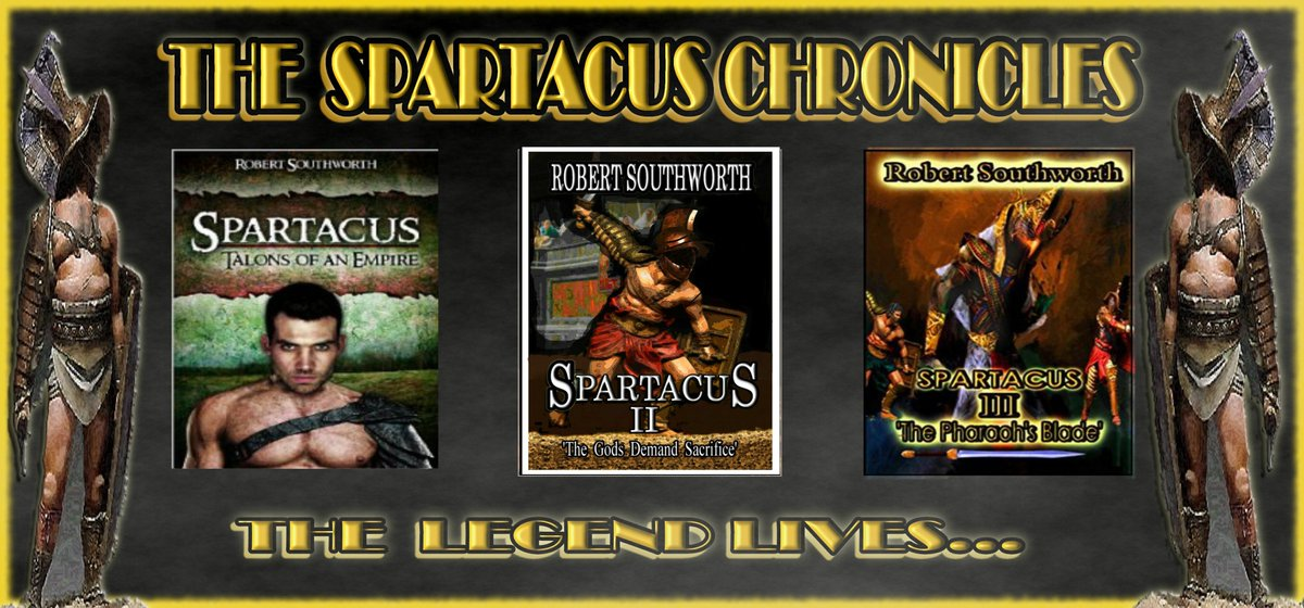 The Spartacus Chronicles - A gripping series of novels about the legendary gladiator. Amazon link -  http:// mybook.to/Rob1  &nbsp;   Book 1 - Only 99p #HistoricalFiction #MustReads #Kindle<br>http://pic.twitter.com/fK52AgfCMO