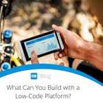 Based on our experience with hundreds of enterprise customers, we see 4 common use cases that are the perfect fit for developing with a low-code platform. It is likely that your business initiatives fall into one or more of these buckets: https://t.co/V0IzXwIOtk