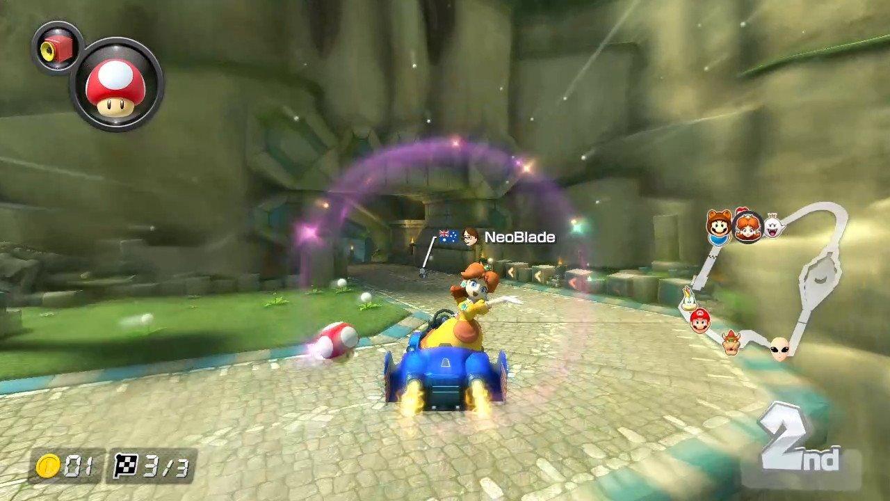 Mario Kart 8 (Switch) Screenshot