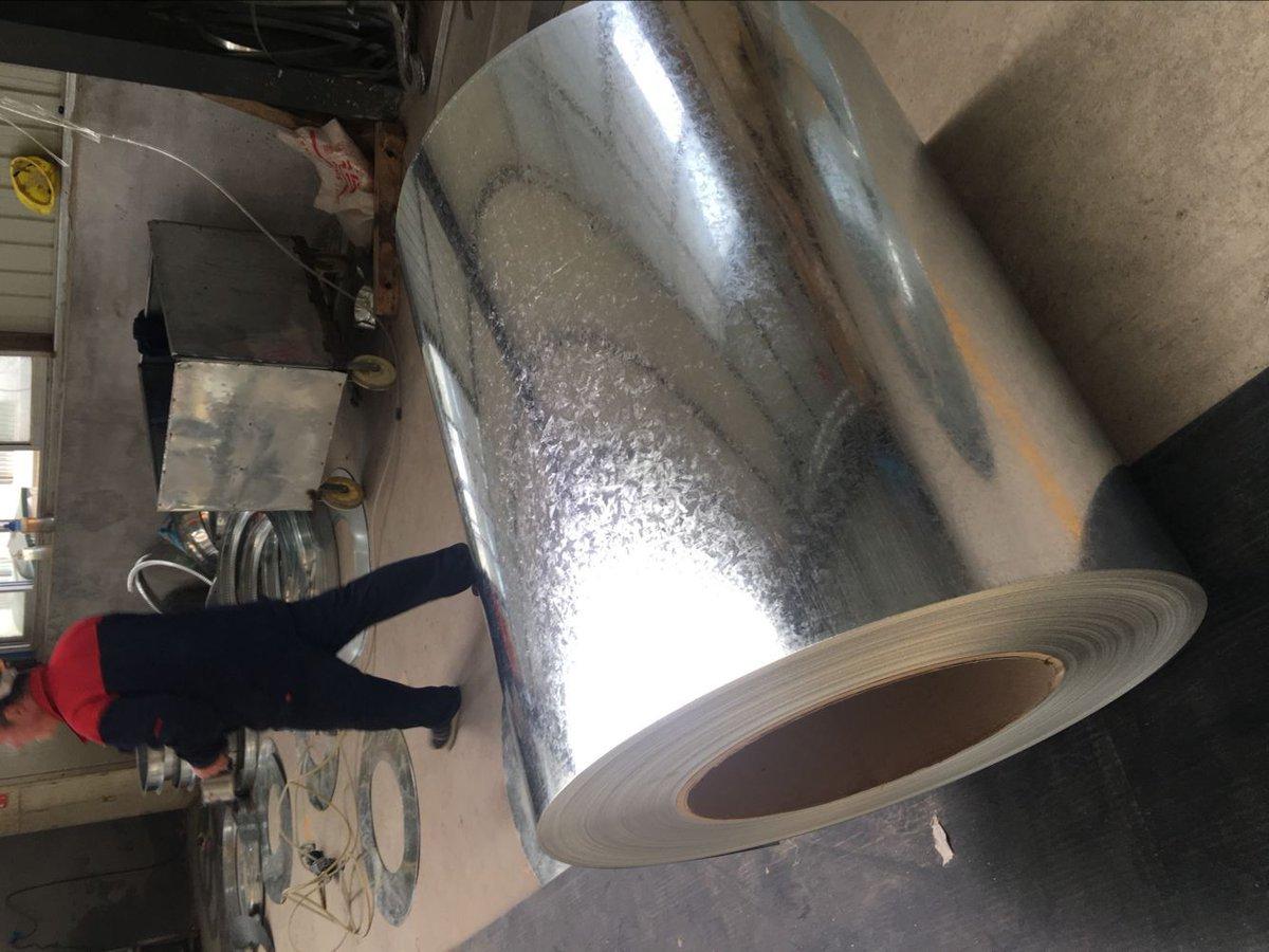DX51D Zinc Coated Galvanized Steel Coil Email: tina@qdhcsteel.com Skype: jina1201 WhatsApp: 0086-15053230960