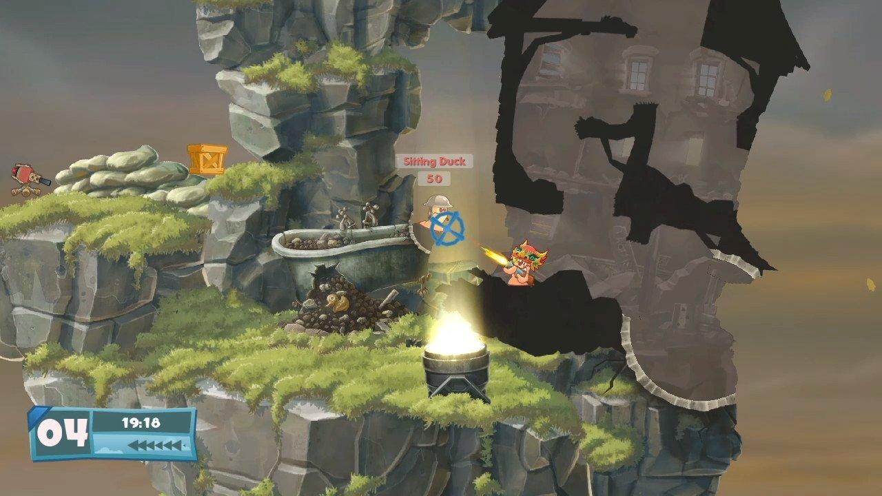 Worms W.M.D (Switch) Screenshot