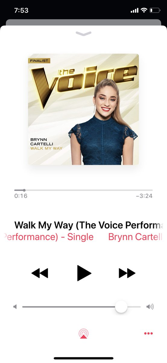 Don't mind me, just jammin' to my girl @BrynnCartelli new single #WalkMyWay YAAASSSSS!!!! 🎉🙌❤️😎 I love this girl y'all!  She's AMAZING!!! AND JUST TURNED 15 😮