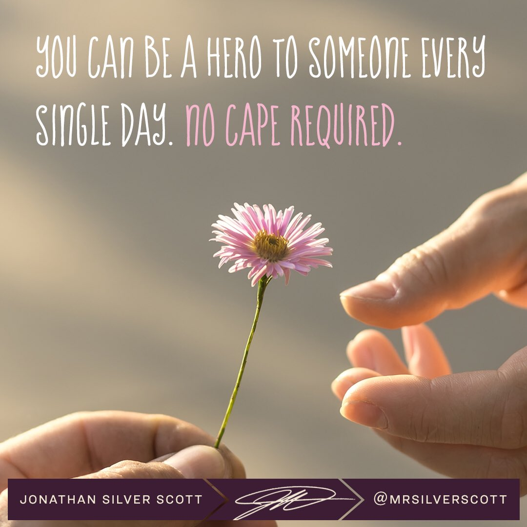 It's pretty easy to look around and find someone who could use a helping hand. #MondayMotivation
