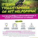 Image for the Tweet beginning: Kevytyrittäjyysvalmennusta Hetassa 4.6.-13.7.2018. Valmennus on