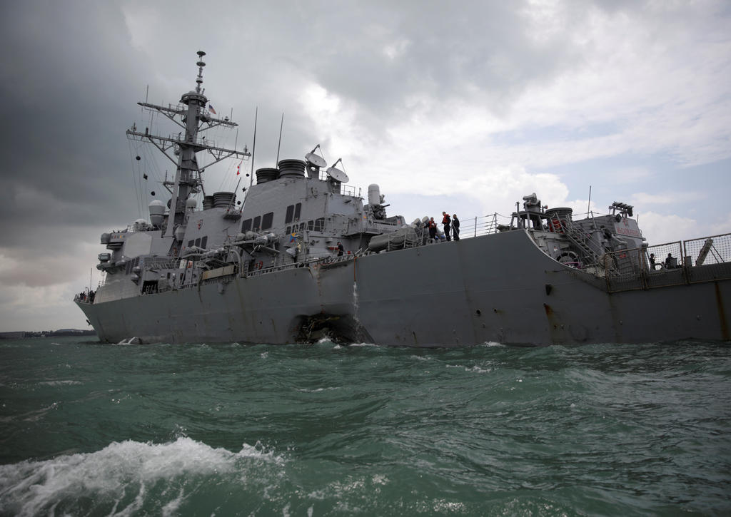 ✍ COMMENTARY: Can US Navy repair the damage to its reputation following fatal collisions?  The recent trial of the officer on board the USS Fitzgerald has shown the standards of navigation and seamanship to be even worse than what was thought at the time. https://t.co/CM86SVNBlr