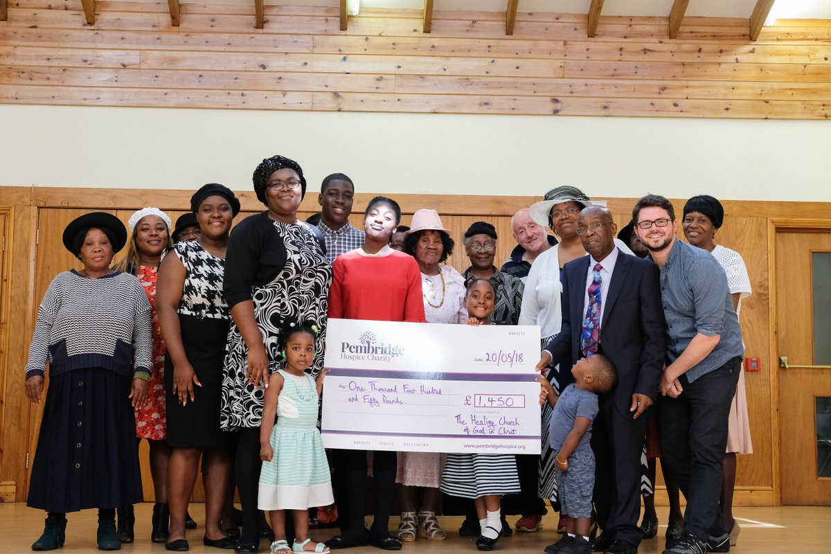 The Healing Church of God in Christ fundraised £1,450 for books and materials that help to provide emotional support for children who know someone we are caring for.  Thanks to Pastor Johnson and the church, including our wonderful community nurse Simone and Beverley! #Brent