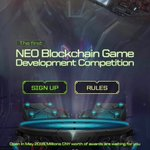 Image for the Tweet beginning: NEO Blockchain Game Development Competition