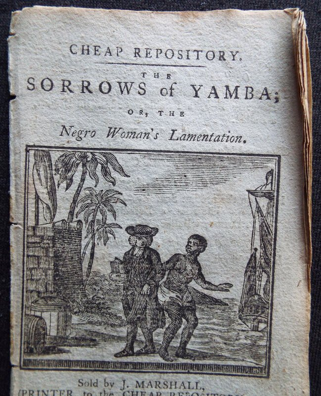 The Sorrows of Yamba or The Negro Womans Lamentation