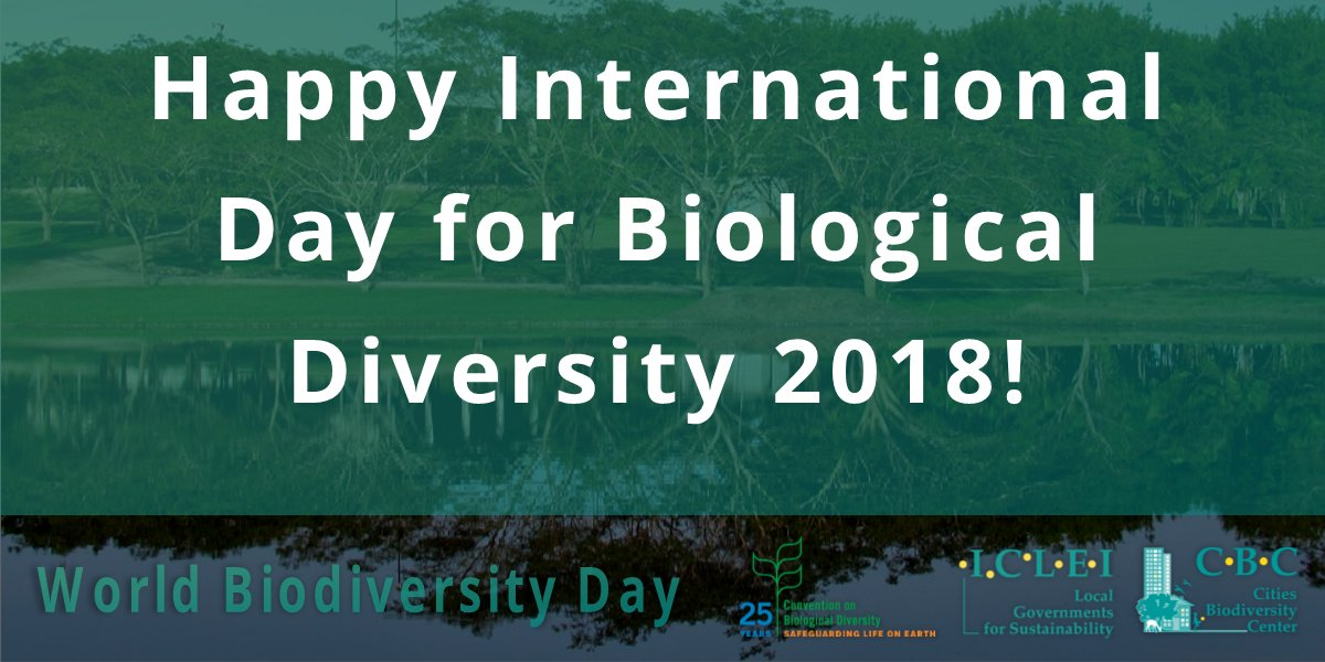 Today is #IntlBiodiversityDay! 🌳  This year, we are celebrating 25 years of action for #biodiversity to mark the 25th anniversary of the entry into force of the CBD @UNBiodiversity  Find out more about what #nature does for us: https://t.co/lBRpTYoyVl