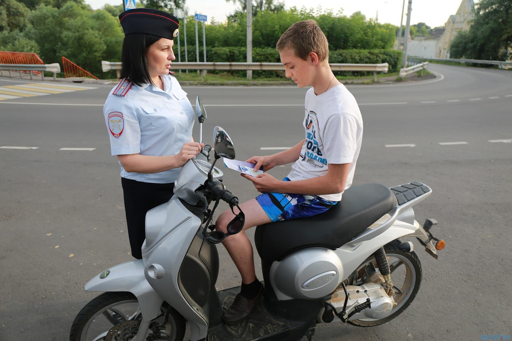 С 6 по 11 июля сотрудники Госавтоинспекции проведут на территории Петровского района профилактическое мероприятие «Велосипед, скутер, мопед»