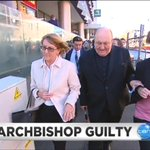 Image for the Tweet beginning: WATCH: Adelaide Archbishop Philip Wilson