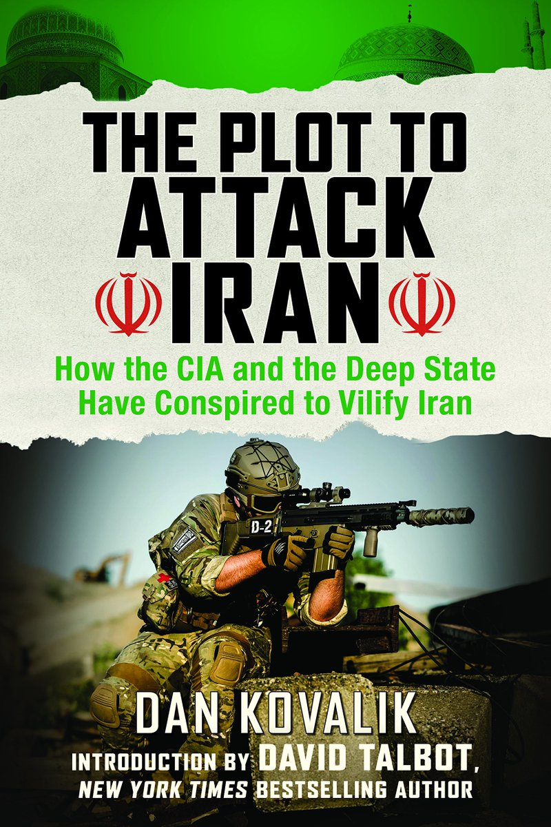 &quot;The Plot to Attack Iran&quot; outlines US campaign of subversion &amp; warfare against the oil-rich nation, while dispelling myths that normalized alienation of their people. Read the true history of US-Iran relations that gives crucial context to Trump&#39;s threats:  https:// amzn.to/2IF9n3i  &nbsp;  <br>http://pic.twitter.com/se3Oi6sw2i