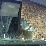 Image for the Tweet beginning: Dashcam footage shows speeding drunk