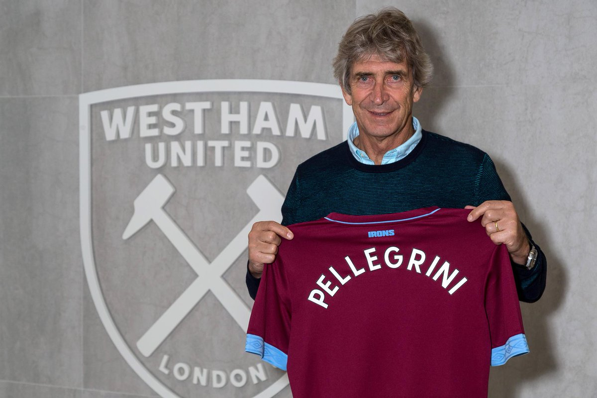 Title-winner Manuel Pellegrini is back in the #PL with @WestHamUtd ⚒  More ➡️ preml.ge/A6zsUI