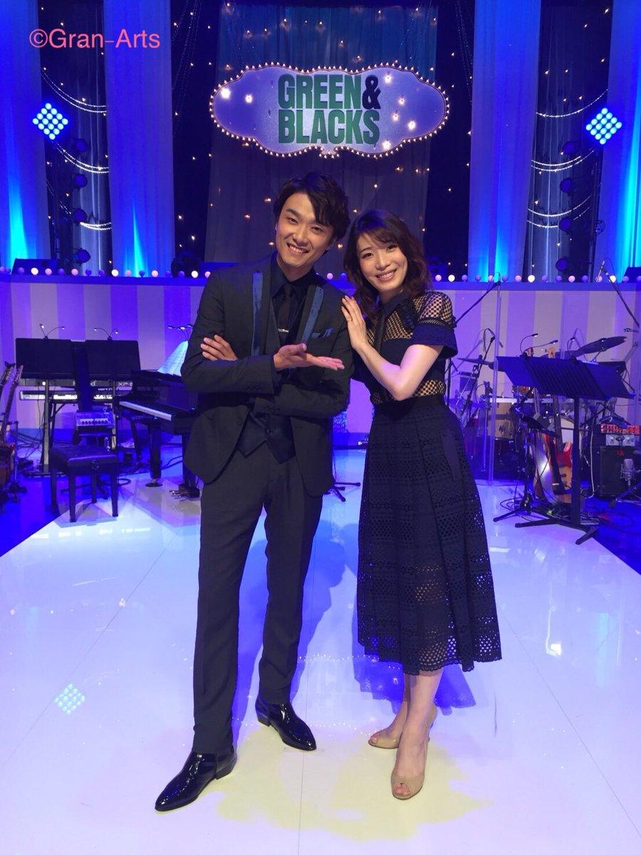 【真瀬はるか】福田雄一 × 井上芳雄「グリーン&ブラックス」歌コーナーにゲスト出演します‼︎ 何を歌