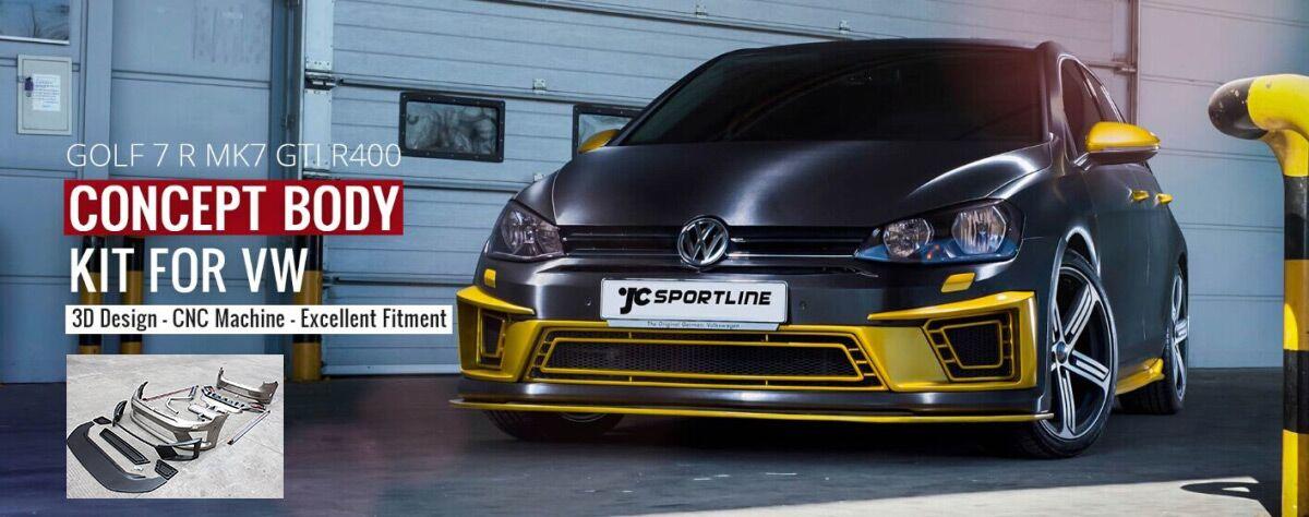 Jcsportline Ar Twitter Bodykit For Vw Golf 7 R Mk7