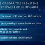 Research by Veritas Technologies on #GDPR (2017 report), states that almost half (47%) of organisations fear they won't meet the requirements of the legislation. Sign up for a full demo and see how you can get your #SAP systems GDPR compliant painlessly. https://t.co/R2SSaeyt7i