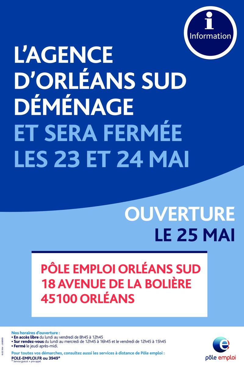 Pole Emploi Centre Val De Loire On Twitter A Compter Du Vendredi