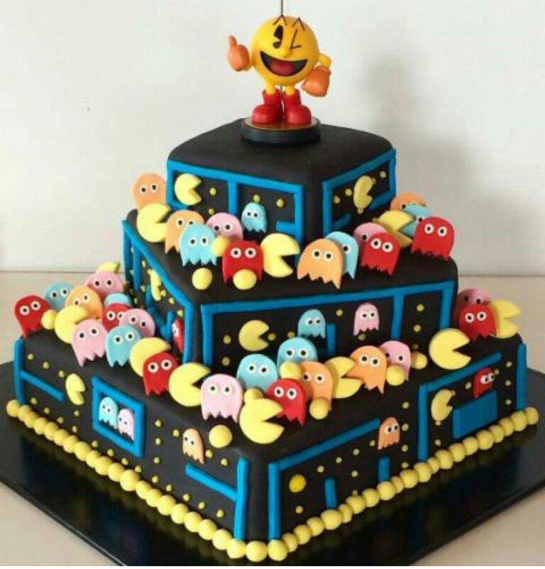 Astounding Intergame Interfun On Twitter Happy Birthday Pac Man Funny Birthday Cards Online Alyptdamsfinfo