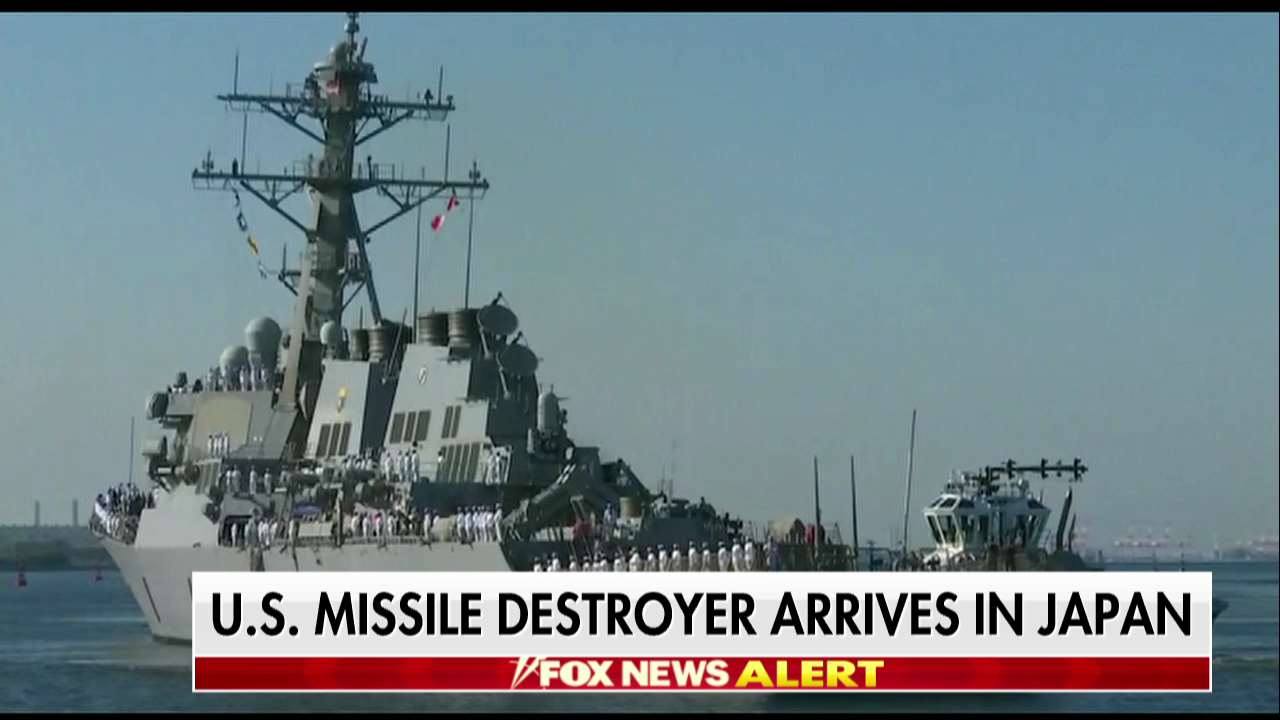U.S. missile destroyer arrives in Japan https://t.co/H59yuTkyCz @USNavy https://t.co/f65O2AOXA3