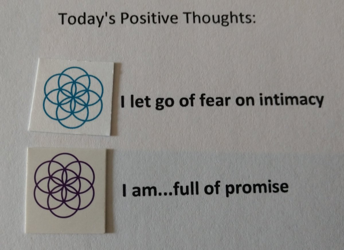 test Twitter Media - Today's Positive Thoughts: I let go of fear of intimacy and I am...full of promise. #affirmation https://t.co/cUUVPVn6Rr