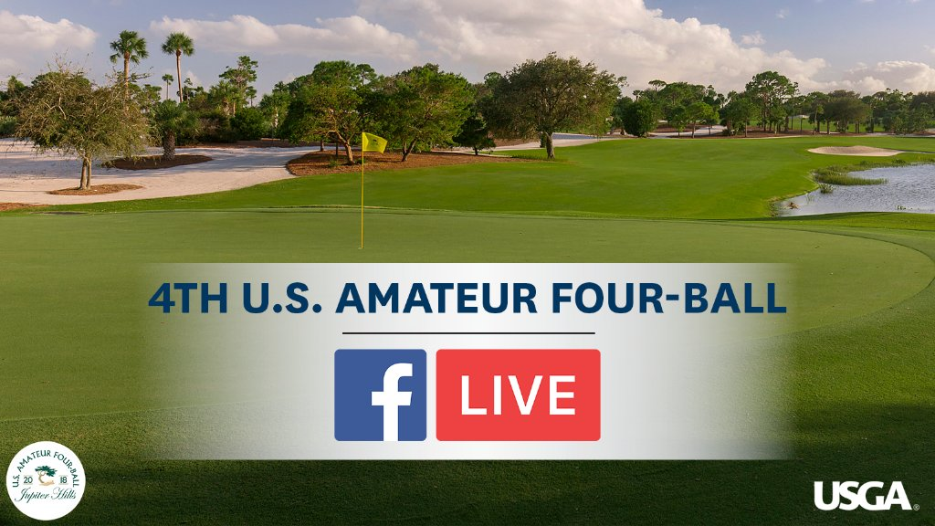 The #USFourBall Round of 16 is streaming now from Jupiter Hills Club: https://t.co/p43SIRsB6S https://t.co/IEJyIOMdja