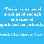 What did the British Chambers of Commerce say to the #UK Prime Minister? #Business #Brexit @britishchambers https://t.co/9fuH8fhagy