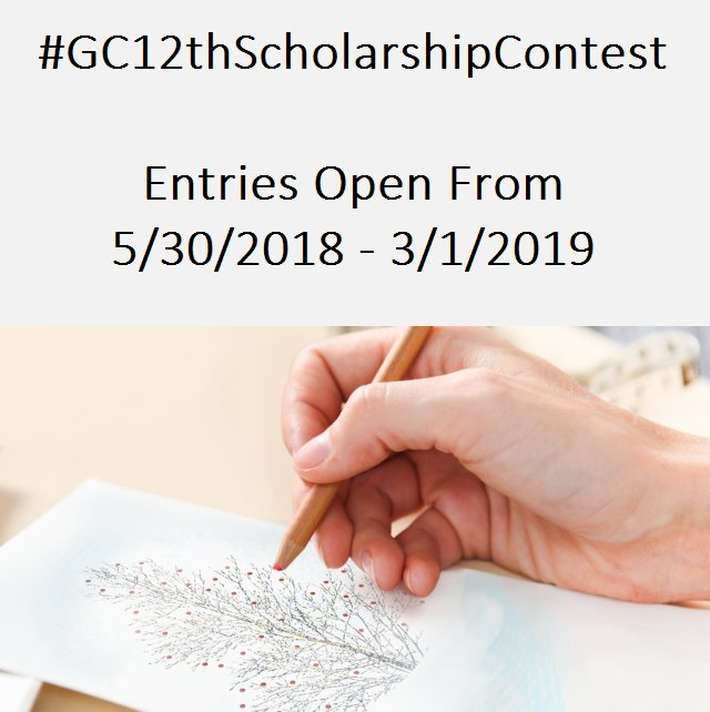 Gallerycollectioncom gcscholarship twitter 12th annual create a greeting card scholarship contest simply design the front for a greeting card by submitting an original photo piece of artwork m4hsunfo