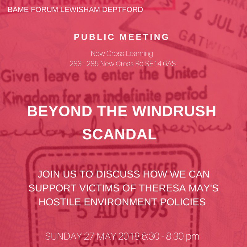 Beyond the Windrush Scandal