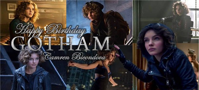 Happy Birthday today (5-22) to actress Camren Bicondova!